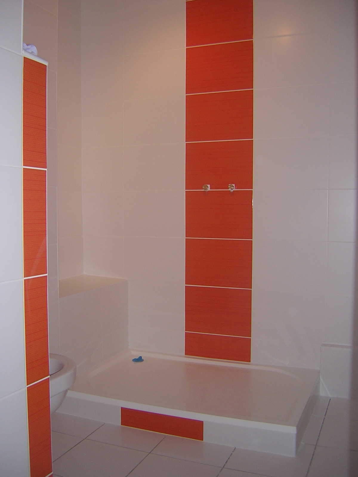 Faience Carrelage orange